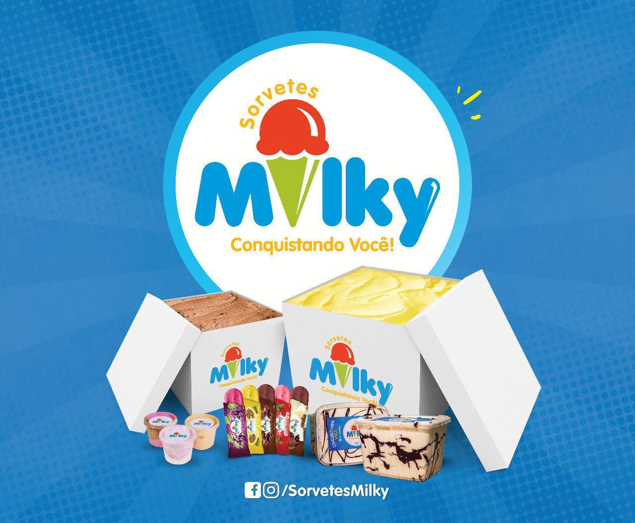 Sorvetes Milky