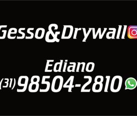 Gesso e Drywall Ediano