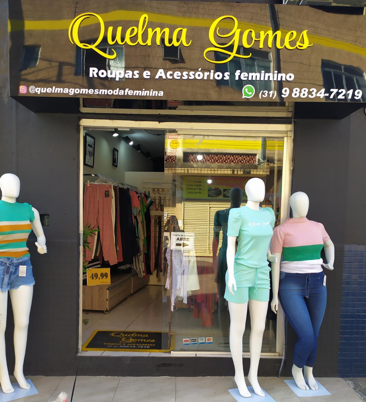Quelma Gomes Roupas e Acessórios Feminino