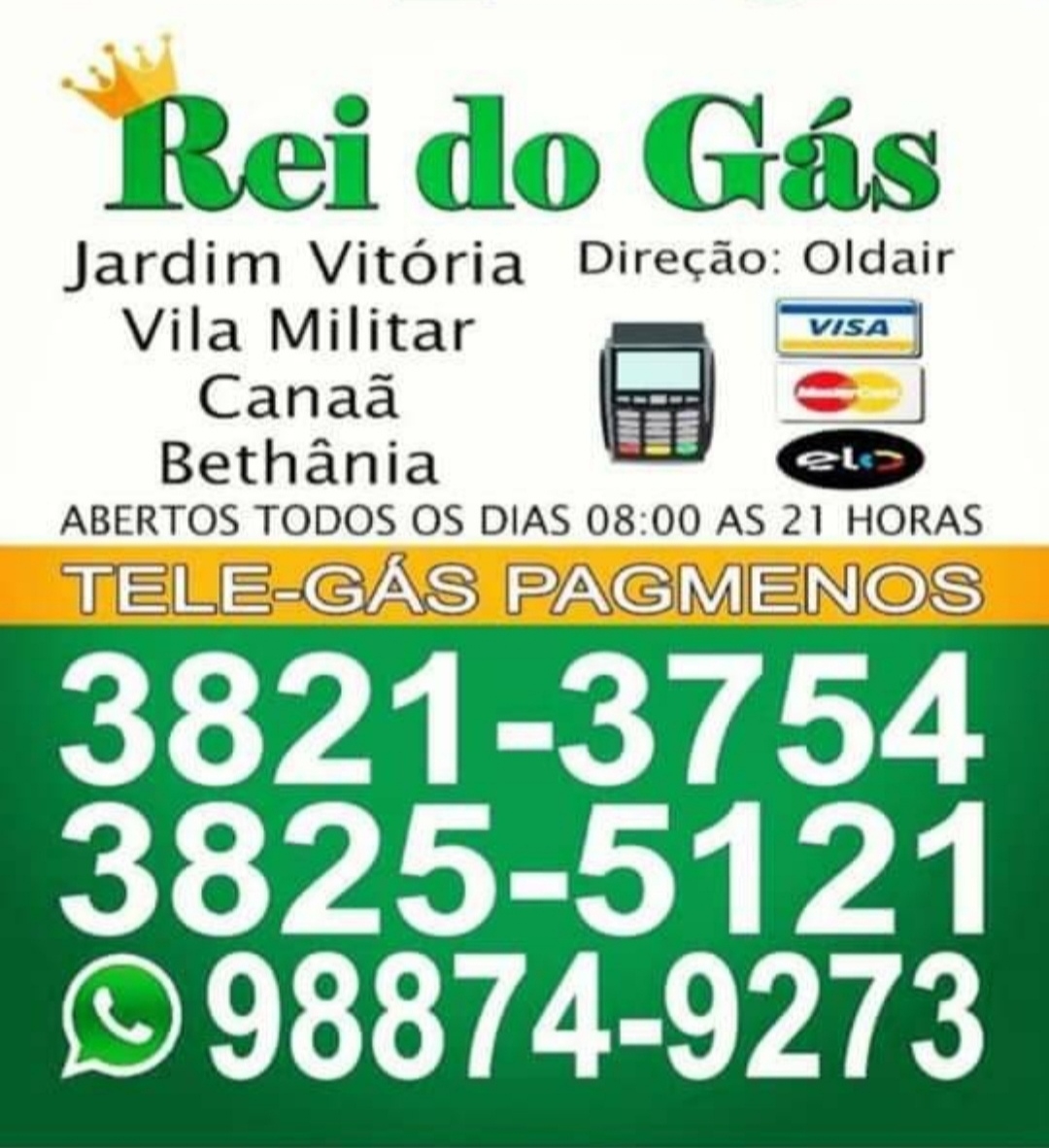 Rei Do Gás Ipatinga