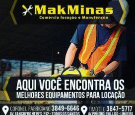 MakMinas Comércio e Locação